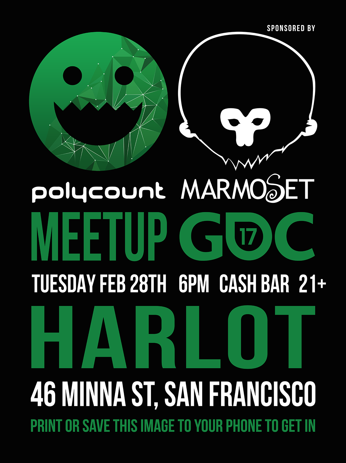 Polycount GDC 2017 Party