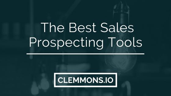 2018's Best Sales Prospecting Tools for B2B & SaaS Lead Generation